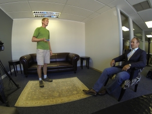 Francois Pienaar TV interview
